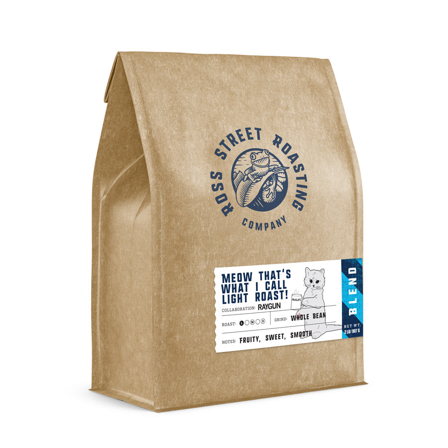 Meow That's What I Call Light Roast! - RAYGUN collaboration, Light Roast Coffee Blend