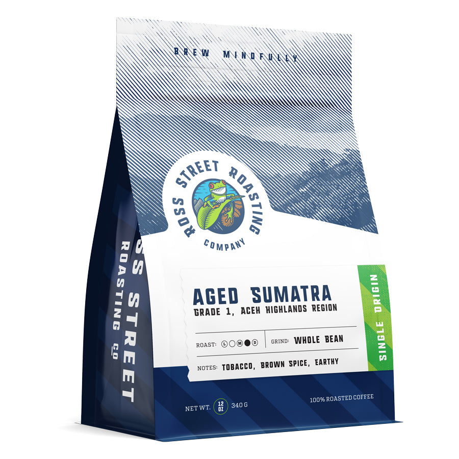 Aged Sumatra Gr 1 - Medium-Dark Roast