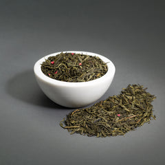 Bohemian Raspberry Green Tea - Loose Leaf, 3oz Bag
