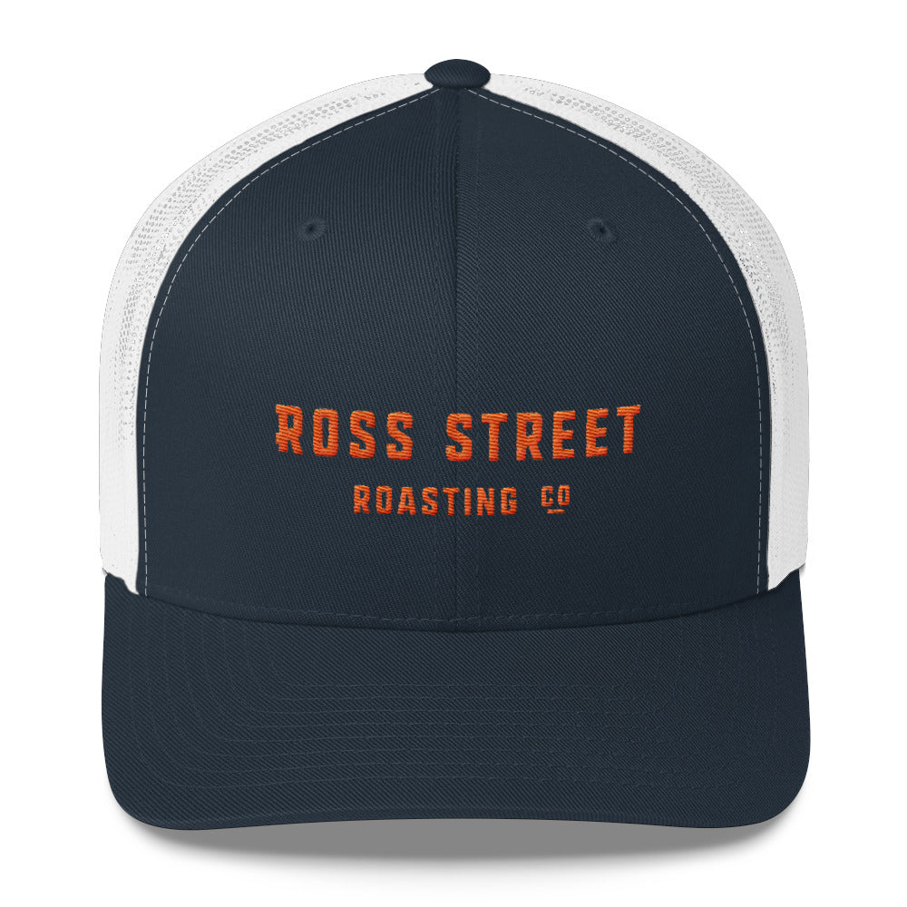 RSR Text Logo - Trucker Cap