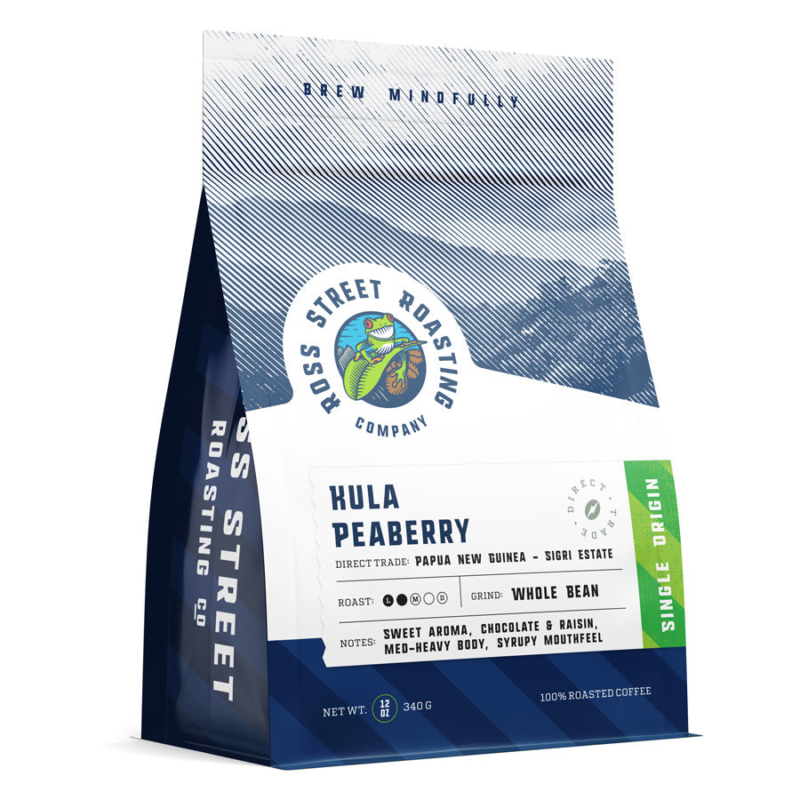 Papua New Guinea Kula Peaberry - Direct Trade Light-Medium Roast Coffee