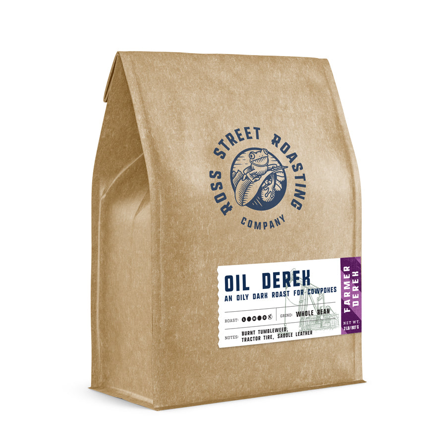 Oil Derek - Farmer Derek's Extra Dark Roast Coffee Blend