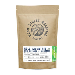Gold Mountain Brix Breaker - Award-winning Nicaraguan Direct Trade Coffee