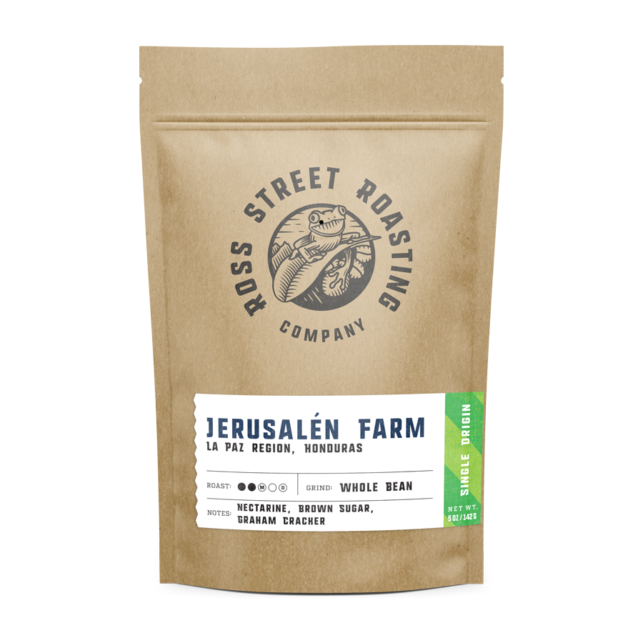 Honduras Jerusalén Farm - Light-Medium roast, Micro-lot