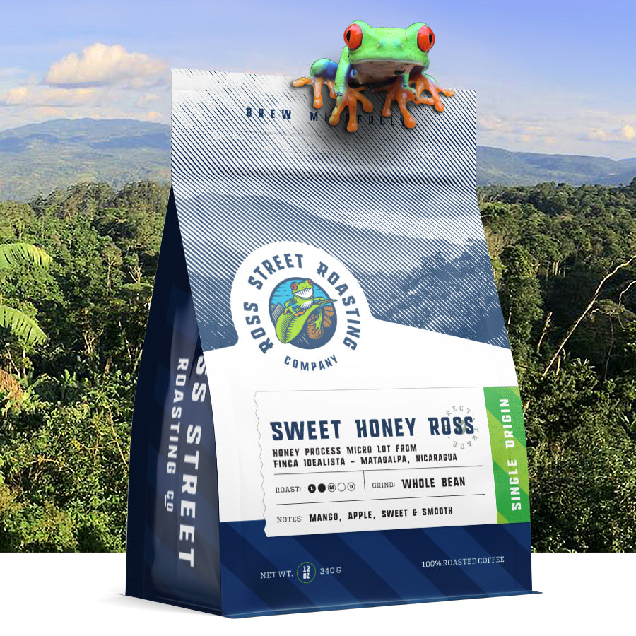 Sweet Honey Ross - Single Farm Direct Relationship Light Roast Nicaraguan Coffee