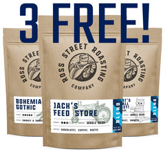 3 Coffees for FREE Plus Shipping - Gourmet Blends