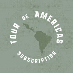 Tour de Americas Coffee Subscription