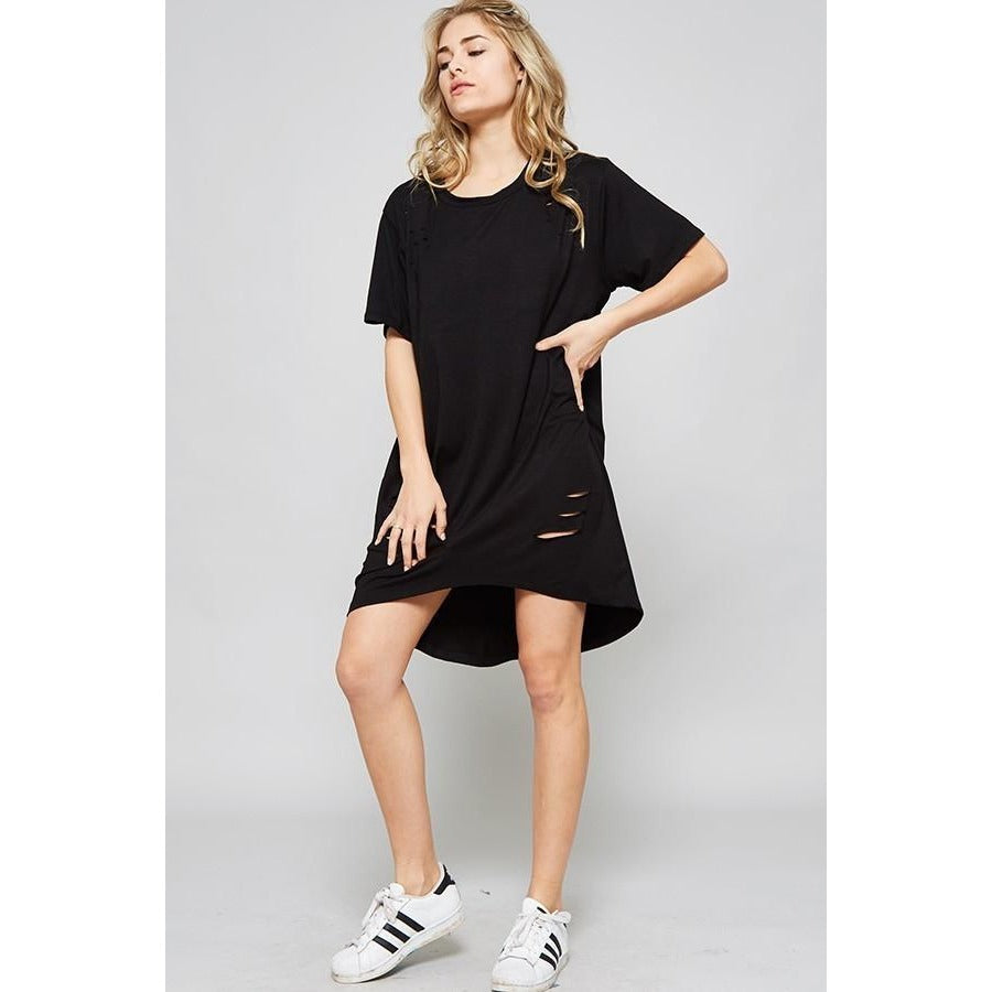 969417e2a489 DON T GIVE A RIP SHIRT DRESS  OVERSIZED TSHIRT – Wild Aquarius Boutique