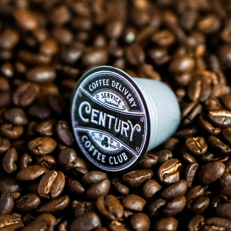 century coffee club main street medium nespresso compatible coffee pods