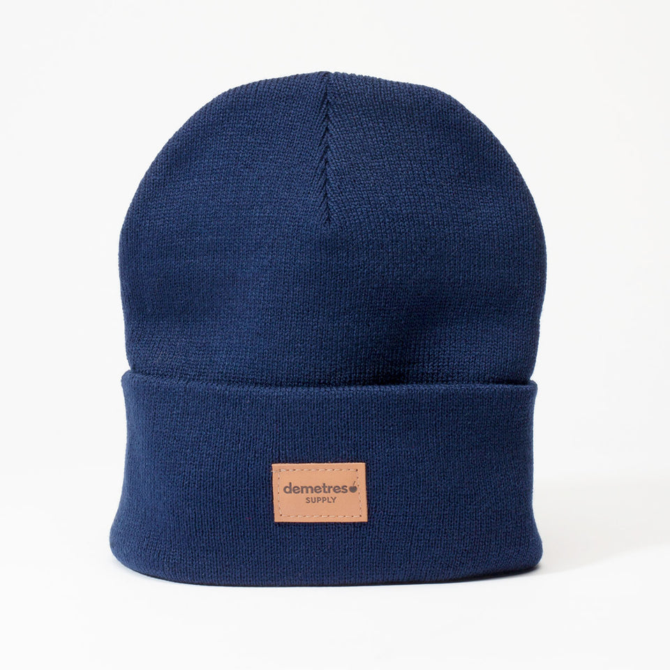 Blueberry Knit Beanie