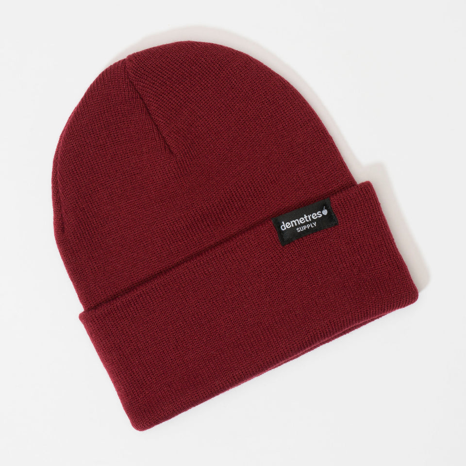 Red Velvet Knit Beanie