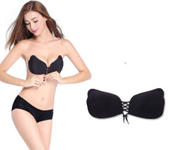NEW Invisible Silicone Push Up Bra For Women  - No Annoying Shoulder Straps!