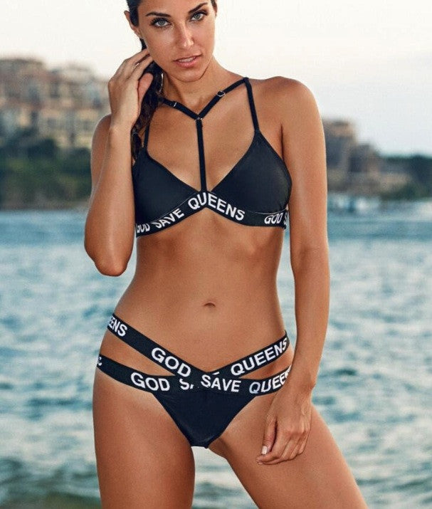 GOD SAVE THE QUEEN BIKINI SET