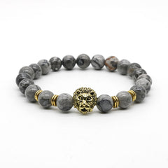 Lions Head Beaded Bracelets (Multiple Styles)