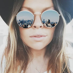 Classic Round Mirror Sunglasses (Multiple Styles)