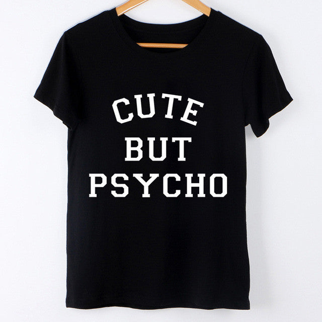 CUTE BUY PSYCHO TEE SHIRT