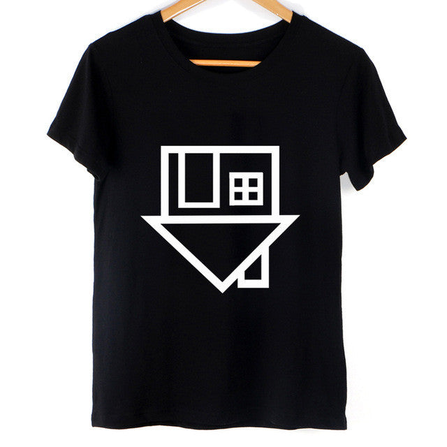 UPSIDE DOWN HOUSE TEE SHIRT
