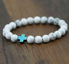 Cross Lava Bracelets