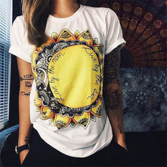 LOVE BY THE MOON LIVE BY THE SUN TEE SHIRT