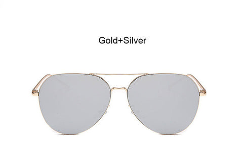 Aviator Mirror Sunglasses (Multiple Styles)