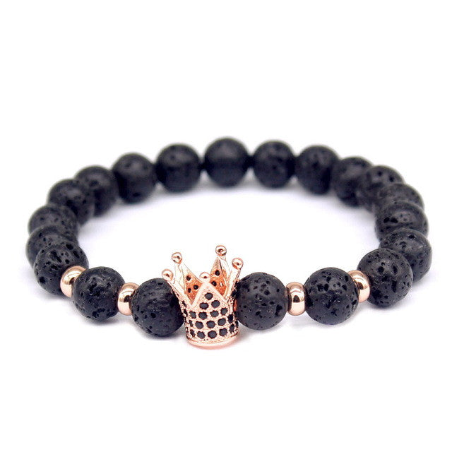 Imperial Lava Crown Bracelet