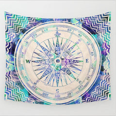 Indian Elephant Mandala Hippie Wall Hanging Tapestry