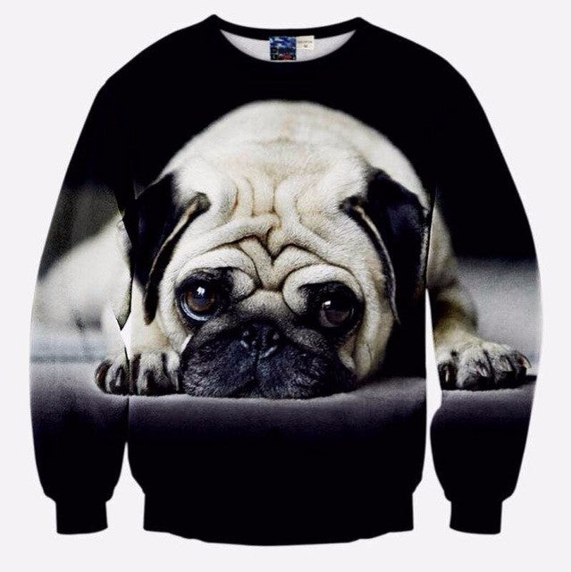 Sad Pug Long Sleeve