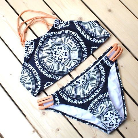 Boho Two Piece Bandage Bikini