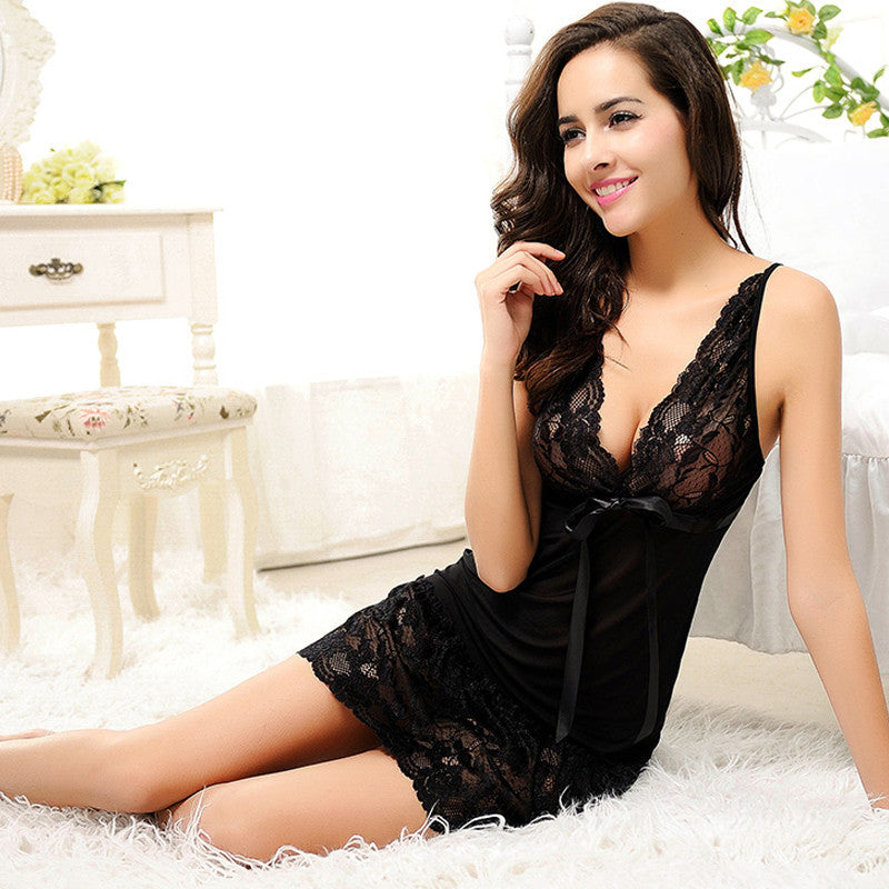 YOUR LUCKY DAY LACE NIGHTGOWN