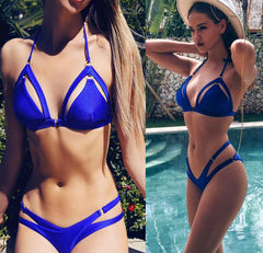 HIGH WAISTED TWO PIECE BIKINI SET
