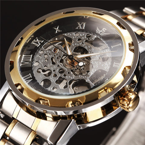 Elite Luxury Skeleton Watch