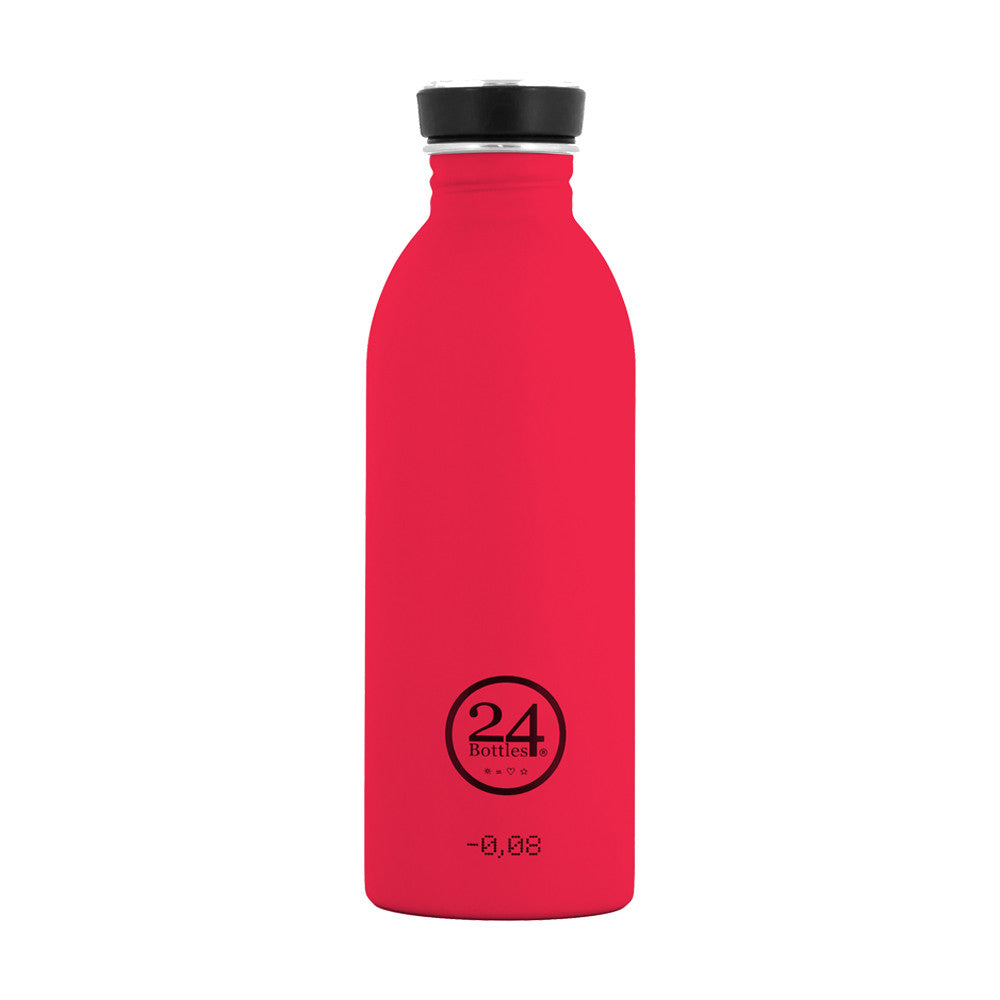 24Bottles - Urban Bottle juomapullo 500 ml - Kirkkaanpunainen