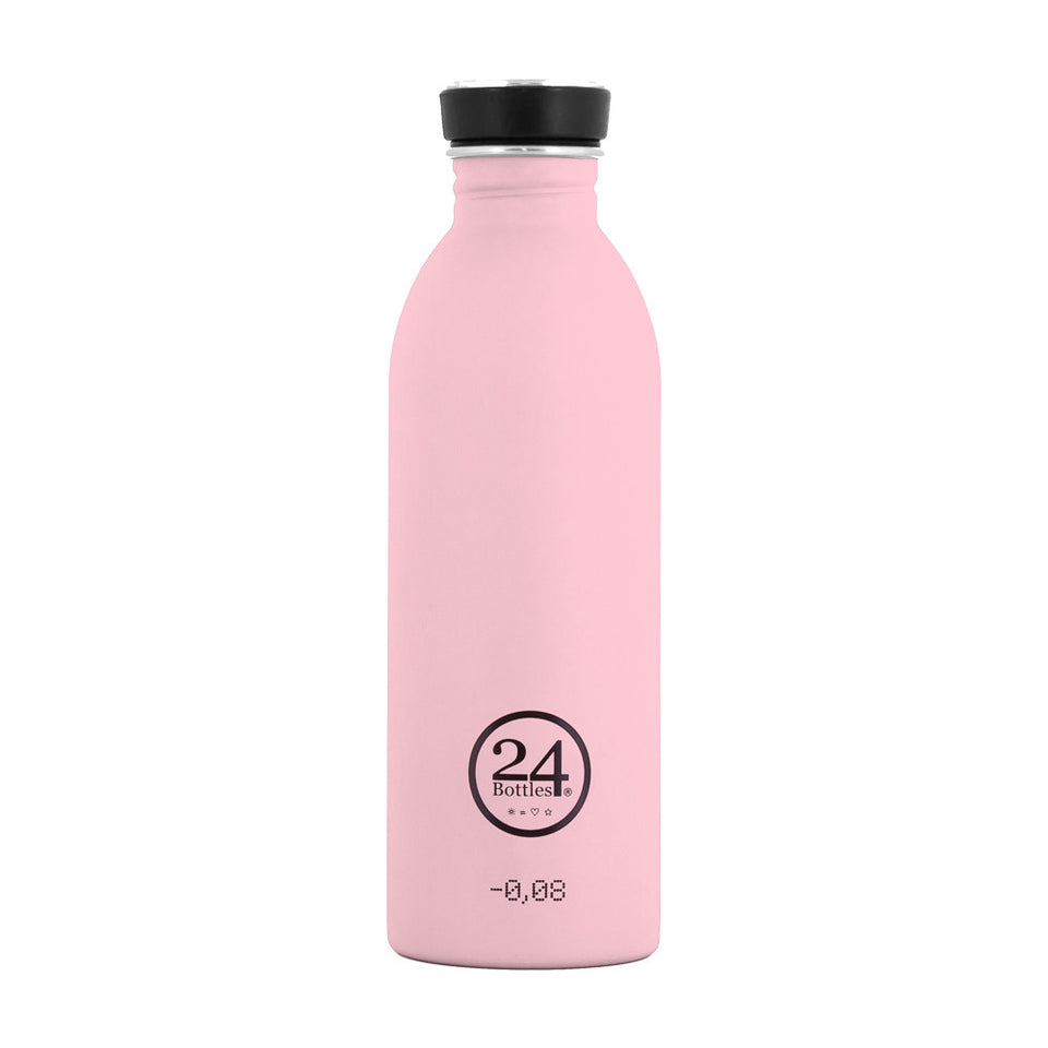 24Bottles - Urban Bottle juomapullo 500 ml - Vaaleanpunainen