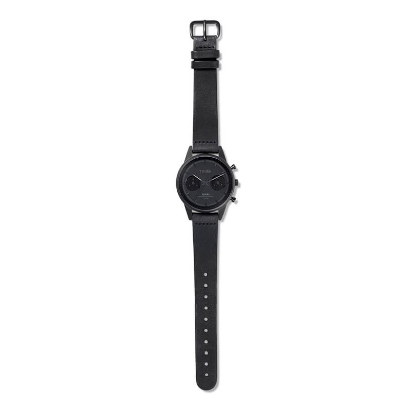 Triwa - Night Nikki rannekello - Black Classic Slim