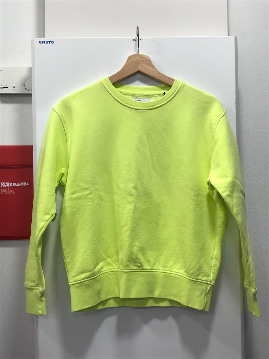 Colorful Standard - Women Classic Organic Crew - CS8052 - Neon Yellow