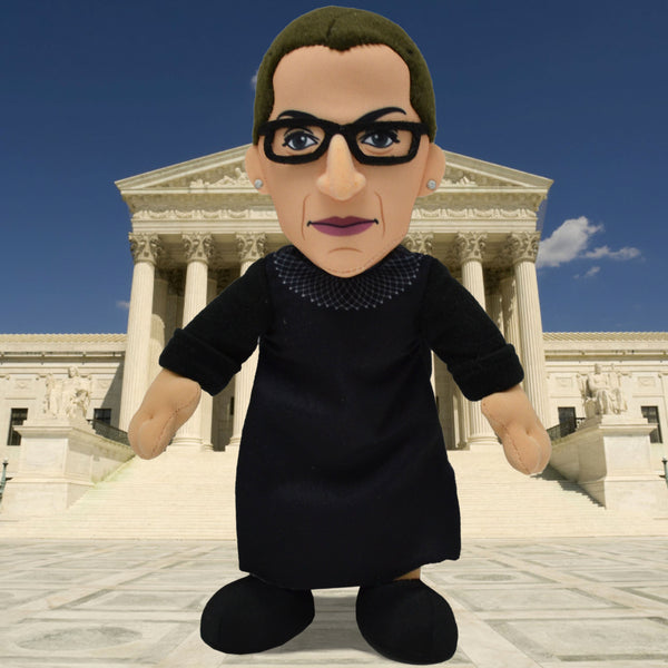 HERE COMES THE JUDGE! RBG JOINS THE BLEACHER CREATURES TEAM OF BELOVED PERSONALITIES