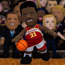 "Atlanta Hawks Dominique Wilkins 10"" Plush Figure"