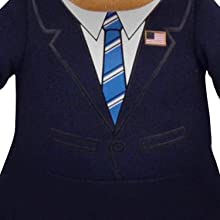 "Historical Figures: President Barack Obama 10"" Plush Figure"