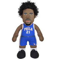 "Philadelphia 76ers Bundle: Franklin & Joel Embiid 10"" Plush Figures (10% Savings)"