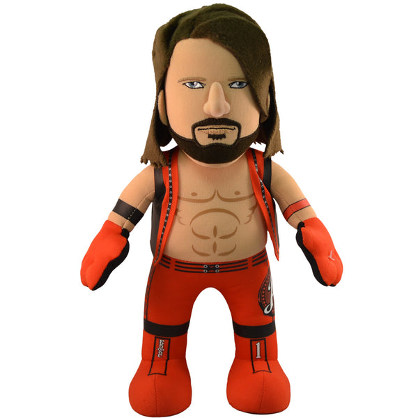 "WWE A.J. Styles  10"" Plush Figure"