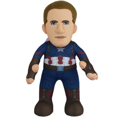 "Marvel Plush Figure Bundle: Captain America & Black Panther 10"" Plush Figures (10% Savings)"