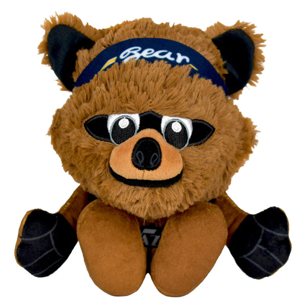 "Utah Jazz Bear Mascot 8"" Kuricha Sitting Plushees"