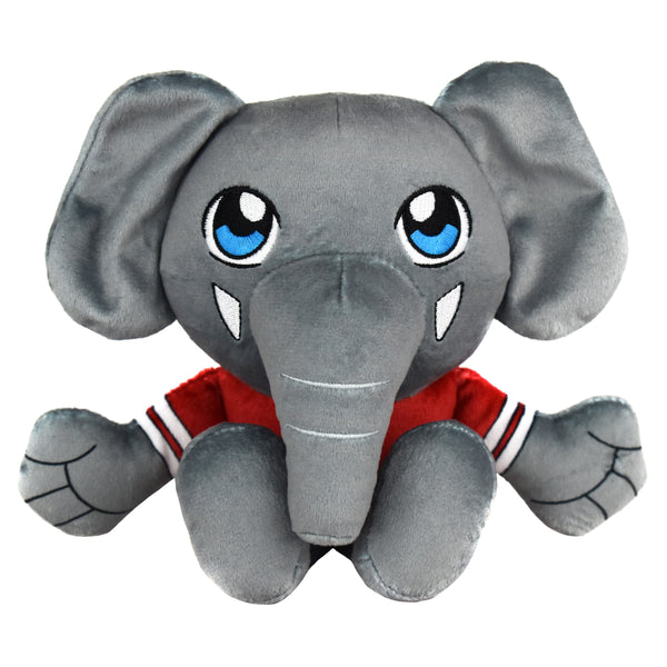 Alabama Crimson Tide Al The Elephant  Mascot Kuricha Sitting Plushees