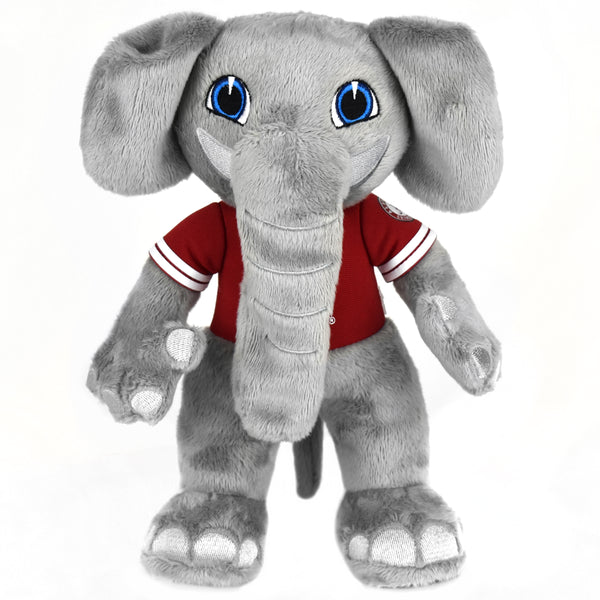"Alabama  Crimson Tide Al the Elephant 10"" Mascot Plush Figure"