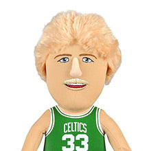 "Boston Celtics Bundle: Larry Bird & Kemba Walker 10"" Plush Figures (10% Savings)"