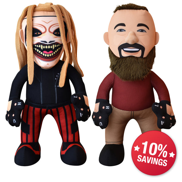 WWE Bray Wyatt Bundle: The Fiend Times Two-10 Plush Figures (10% Savings)