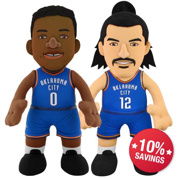OKC Thunder Dynamic Duo - Westbrook and Adams (10% Savings!)