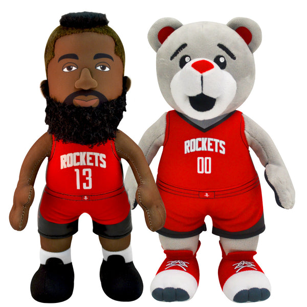 "Houston Rockets Bundle: Clutch & James Harden 10"" Plush Figures"