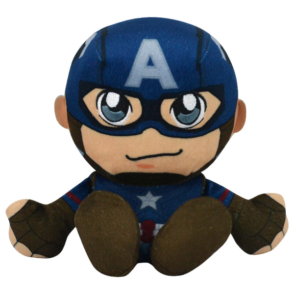 "Marvel Captain America 8"" Kuricha Sitting Plush"
