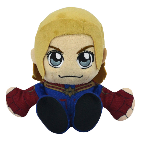 "Marvel Captain Marvel 8"" Kuricha Sitting Plush"